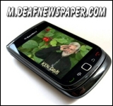 Deaf Newspaper on Mobile